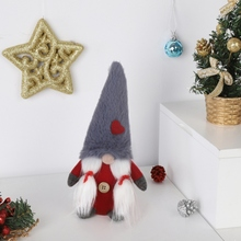 Get more info on the 8Inch Plush Gnome Doll Ornaments Swedish Christmas Santa With Tied Beard Nordic Elf Figurine Home Christmas DecorationCM