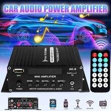 400W 2x200W Stereo HIFI Car Home Subwoofer Som do carro Amplificador de áudio Amplificador de Som bluetooth Speaker Amplificadores com Controle Remoto