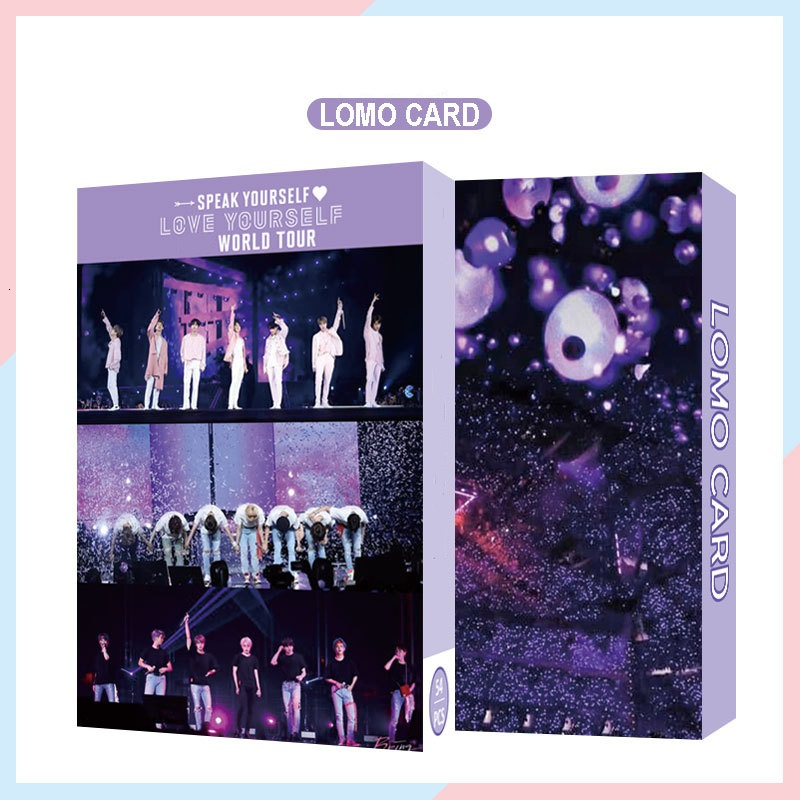 Paper-Card Poster Album YOURSELF Self-Made Boys KPOP 54PC with Luv SPEAK title=