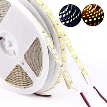 DC 12V 24V SMD 5054 LED Strip light 5M 120leds/m Flexible Tape ledstrip diode waterproof brighter than 5050 White/Warm White недорого