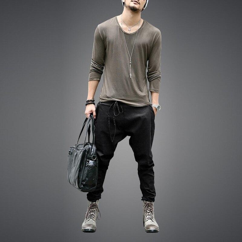 Autumn Men Pants Hip Hop Harem Joggers Pants 2020 New Male Trousers Mens Joggers Solid Pants Sweatpants
