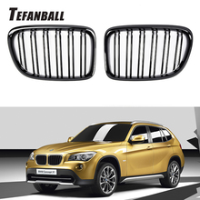Calandre Sport à Double lamelles pour BMW X1 E84 2011 – 2015, une paire, accessoires de carrosserie, style automobile