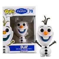 FUNKO POP film OLAF #79 PVC figurine brinquedos Collection modèle jouets pour enfants cadeau de noël