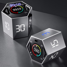 LLANO Kitchen Timer LED Digital For Shower/Study/Cooking Stopwatch Magnetic Electronic Countdown Time Timer Kitchen 60 Minutes