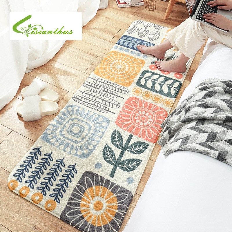 Creative Long tapis de cuisine tapis de bain tapis de sol entrée paillasson absorbant chambre salon tapis de sol moderne tapis de cuisine