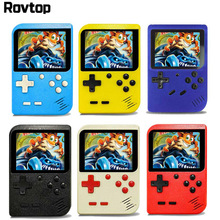 Retro Portable Mini Handheld Game Console 8 Bit 2.8 Inch Color LCD Kids Color Video Game Player Built in 168 games
