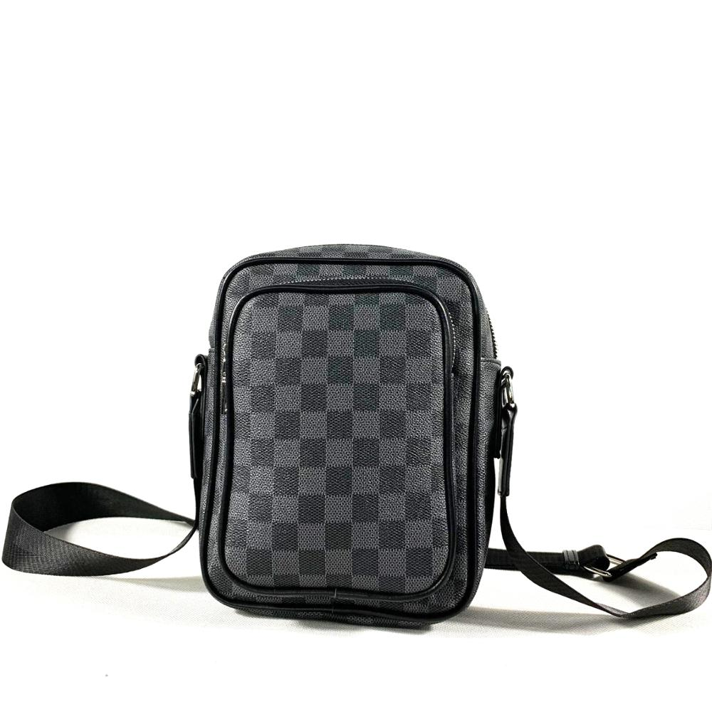 PU Leather Male Shoulder Bag Black Messenger Bags Business Man Fashion Briefcase Handbag Mens Luxury Style