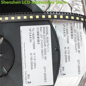 Image 3 - 1000 قطعة ل LG 3535 2 واط 6 فولت 240ma 3535 SMD LED استبدال LG inنوت k تلفاز LCD الضوء الخلفي الخرز إضاءة خلفية للتلفاز ديود إصلاح تطبيق التلفزيون