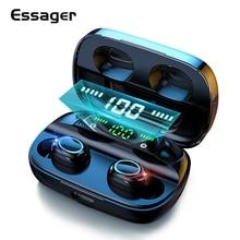 Essager S11 TWS 무선 블루투스 5.0 이어폰 헤드폰 미니 무선 헤드셋 진정한 무선 이어폰 전화 샤오미 아이폰