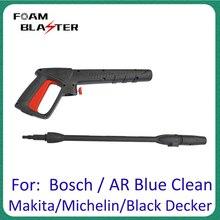Pressure Washer Spray Gun Car Washer Water Clean Jet Lance Nozzle for AR Blue Black Decker Bosch Michelin Makita Pressure Washer
