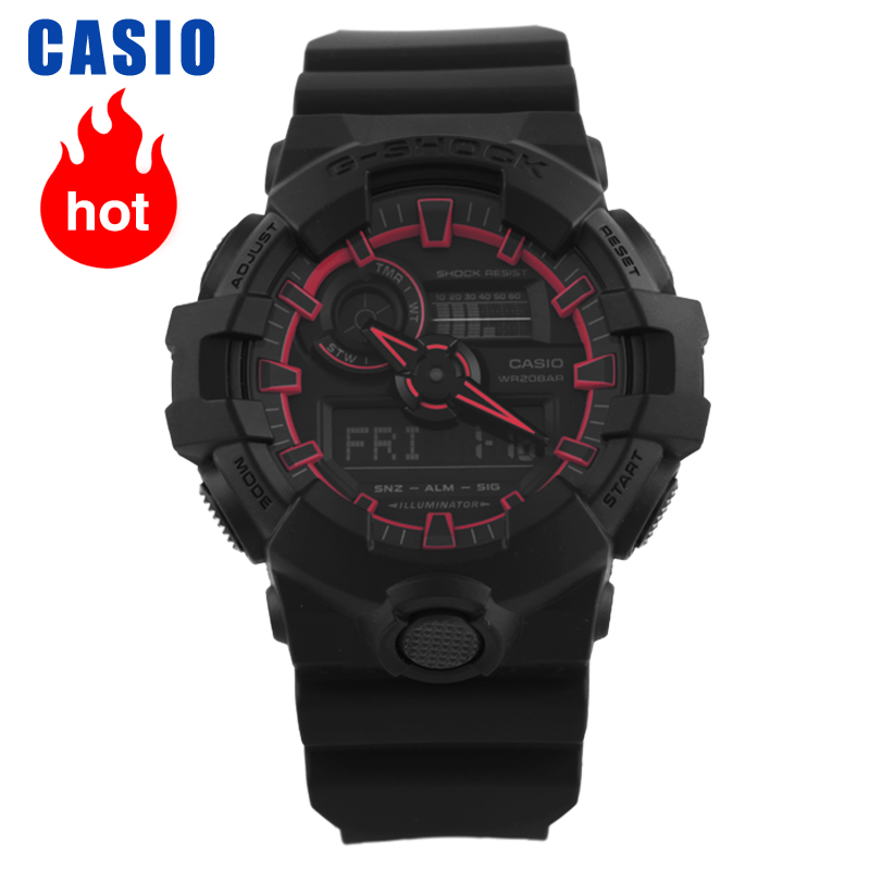 Casio Watch G-SHOCK Black Knight Sports Quartz Watch GA-700SE-1A4