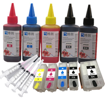 Refill ink kit for epson 202xl 202 Refillable  ink cartridge arc chip for Epson Expression Photo XP-6000/XP-6005/XP-6100/XP-6105 t2971 ink cartridge xp231 xp241 t2971 t2964 ink cartridge with one time chip for epson xp231 xp 231 xp 241 xp 431 inkjet printer