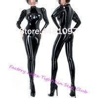 Black Latex Sexy Women Catsuit Tight Latex Rubber Zentai With Socks Sheath Bodysuit 3D Bra for Females Custom Made