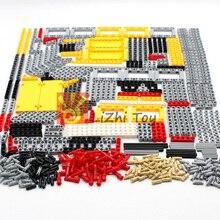 548 قطعة كتل تكنيك أجزاء ليفتارم شعاع عبر المحور لوحة موصلات MOC ملحق اللعب الميكانيكية سيارة السائبة متوافق ليجودز