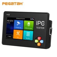 цена на NEW 3.5 Inch H.265 4K IP CCTV Tester IP AHD CVI CVBS TVI IP Camera Tester  ONVIF PTZ WIFI 12V1A Output Wireless WIFI Monitor