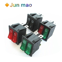 Oil-Pan Rocker Power-Switch-Button Electric-Heater Double-Boat Lights with 2-Stalls 1PCS