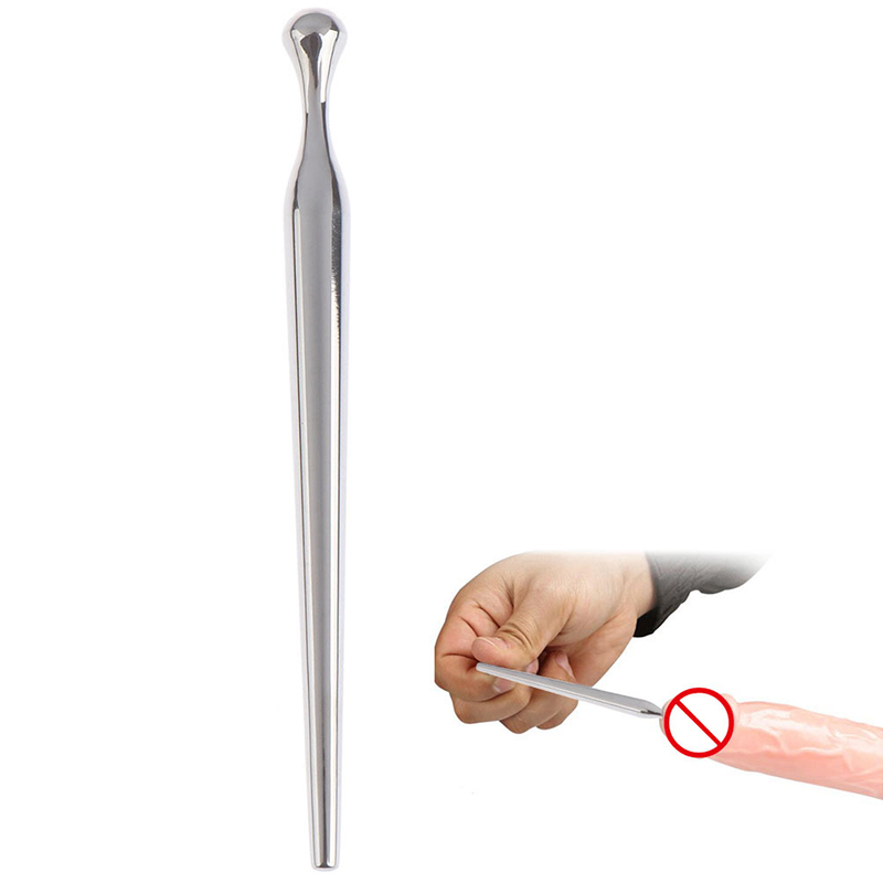 1Pcs Stainless Steel Catheter Sounding Dilator Urethral Prince Stretching SM Penis Plug Horse Stimulate Sex Toys For Men Gay