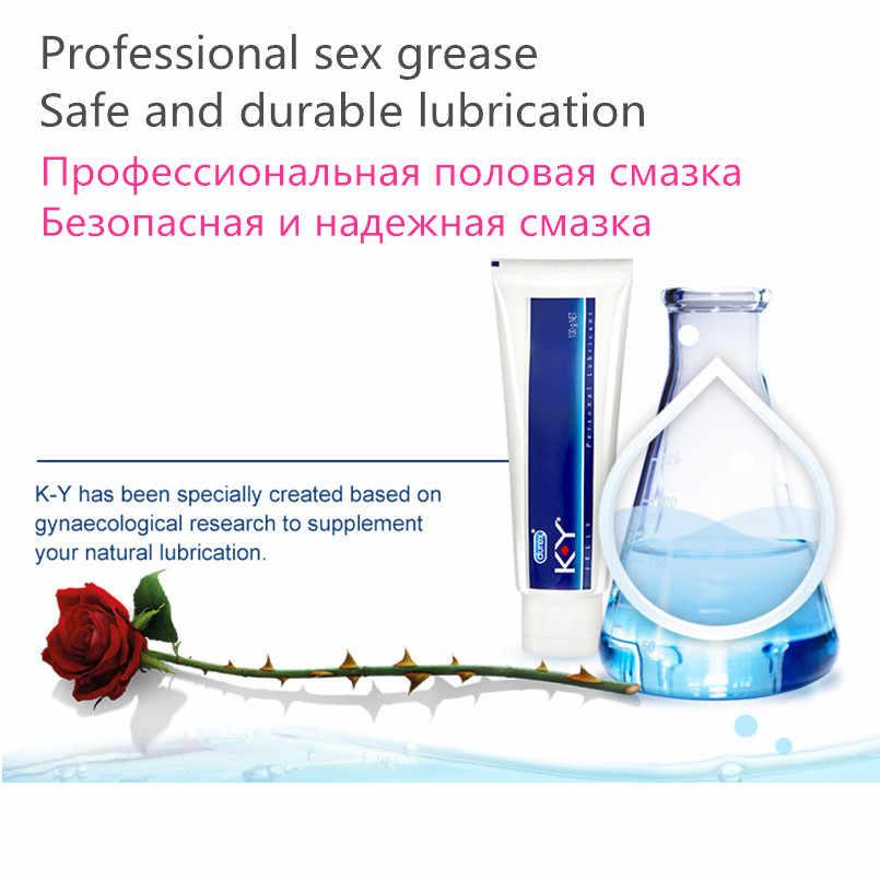 Durex KY Jelly Personal Lubricant 50g/100g น้ำนวดน้ำมันน้ำมันหล่อลื่นช่องคลอดสำหรับผู้ใหญ่เจลทางเพศของเล่นผลิตภัณฑ์