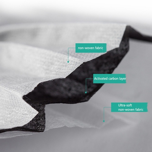 5pcs-100pcs High-quality Non-Woven Fabric Meltblown Cloth Adult Disposable Black Mask Filter Face Mask Black Masks 4