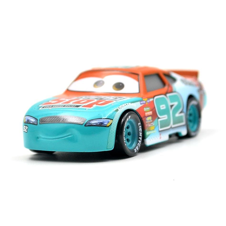 Disney Pixar Cars 3 21 стиль для детей Джексон шторм Высокое качество автомобиль подарок на день рождения сплав автомобиля игрушки модели персонажей из мультфильмов рождественские подарки - Цвет: 38