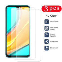 3Pcs for xiaomi redmi 10X 9C 9A note 9 9S pro max 8A 8T 8 pro tempered glass phone screen protector on the glass protective film