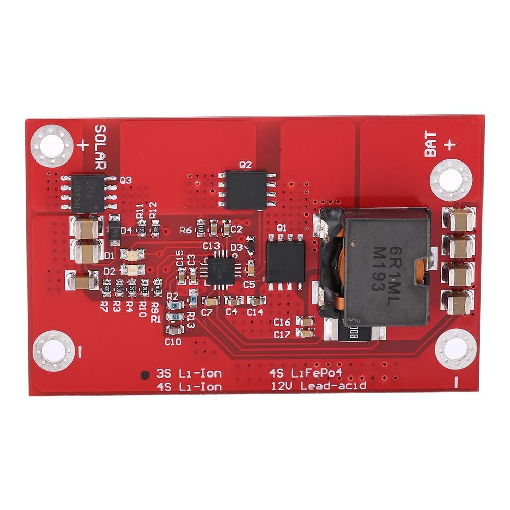 BQ24650 5A MPPT Solar Panel Controller 3 S/4 S LiFePO4 Lithium-Batterie High-Speed Effiziente Aufladen Bord