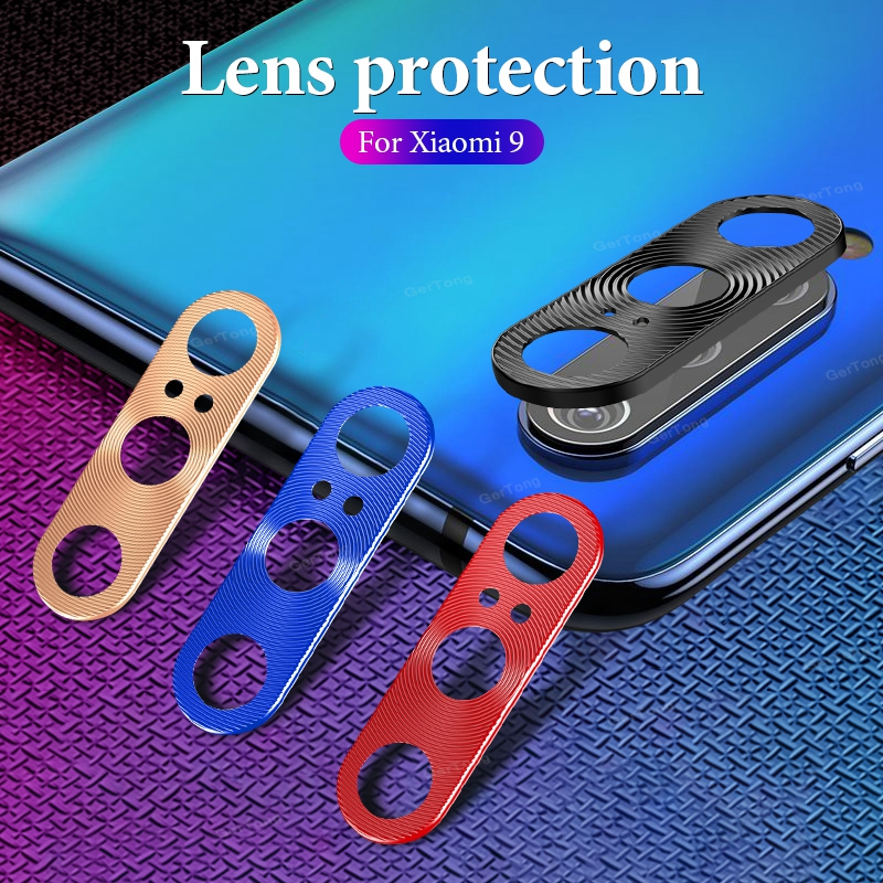 <font><b>Camera</b></font> Lens Protector Case For Xiaomi <font><b>Mi</b></font> 9 SE <font><b>8</b></font> Mi9 Mi8 SE Ring Plating Aluminum <font><b>Camera</b></font> Cover Ring Protection Shell image