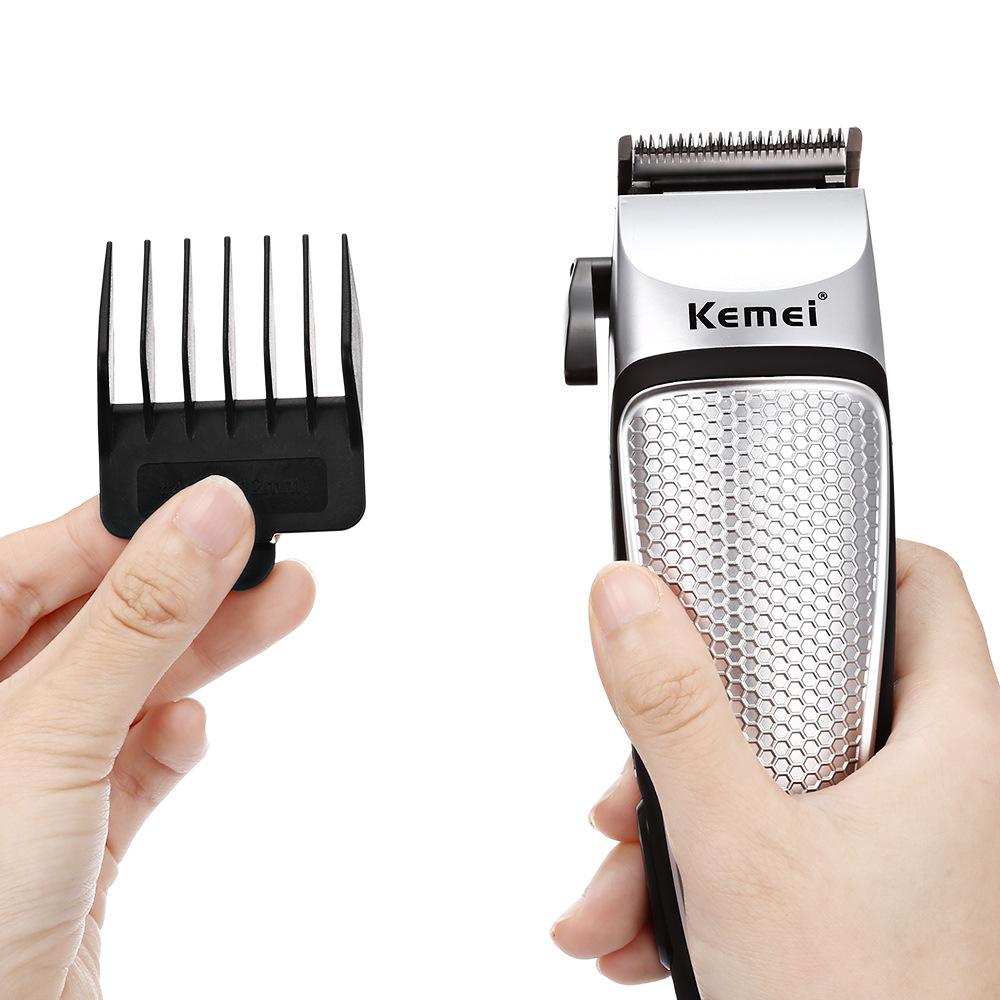 KM-4639 Electric Hair Clipper Professional Hair Trimmer Low Noise Hair Shaving Tools DIY Household Haircut Machine