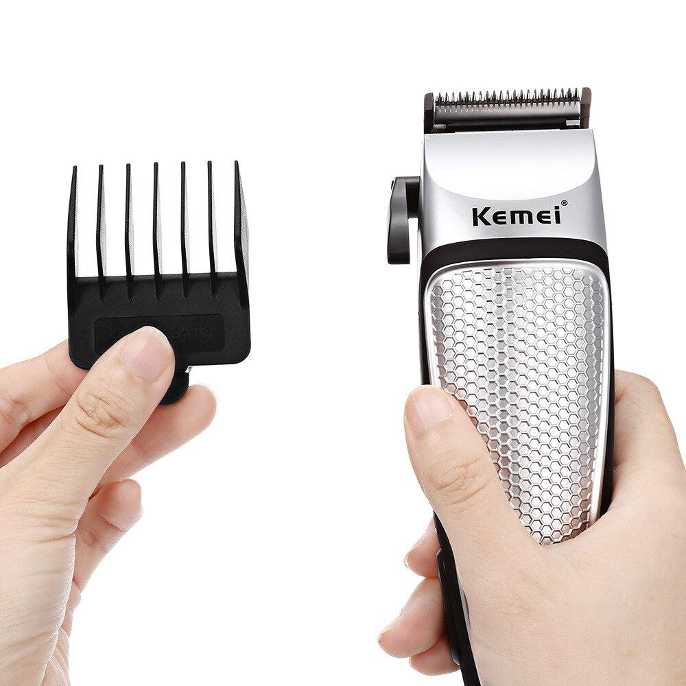 KM-4639 Electric Hair Clipper Professional Hair Trimmer Low Noise Hair Shaving Tools DIY Household Haircut Machine
