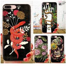 Snake Soft TPU Cell Phone For Samsung Galaxy Note 5 8 9 S3 S4 S5 S6 S7 S8 S9 S10 5G mini Edge Plus Lite(China)