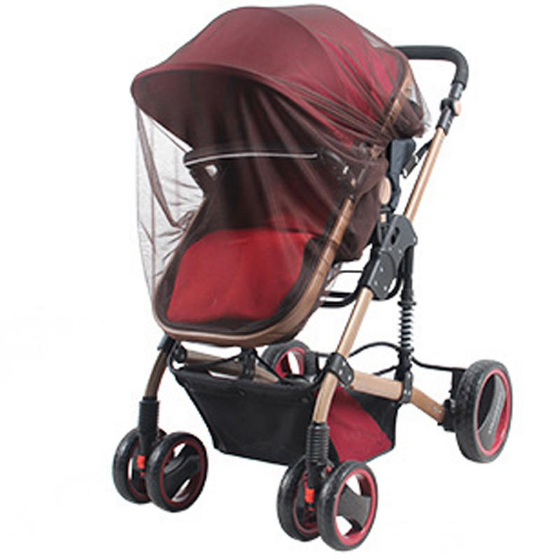Infants Baby Stroller Pushchair Mosquito Insect Safe Mesh Buggy Crib Netting Cart Mosquito Pushchair Full Covers 2020