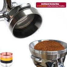 Anel de dose do café do espresso de 51/53/54/58mm-anel de substituição do filtro de café de portaffiters para o café expresso