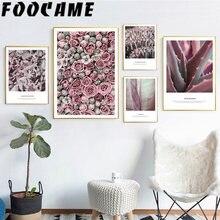 Цветочные Розы ботанические розовые ретро листья Современный