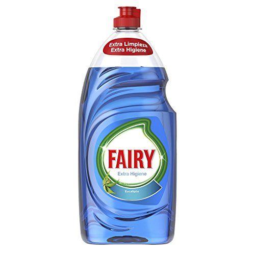Fairy Extra Hygiene Liquid For Dishwasher Eucalyptus–4Packs Of 1015ML–Total: 4060ml