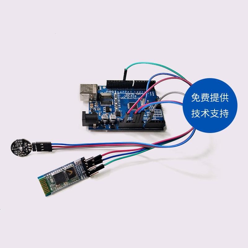 PulseSensor Pulse Sensor Kit Heart Rate APP Display HRV ECG Sensor OLED Display