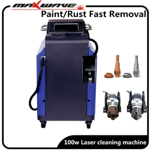 Factory Price China Laser Cleaning Machine for Paint Removal/laser Rust Removal Machine(China)