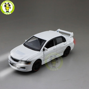Image 1 - 1/32 Jackiekim Lancer Evo Ix 9 Rhd Diecast Model Auto Speelgoed Voor Kinderen Jongen Meisje Geschenken