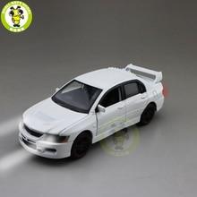 1/32 jackiekim lancer evo ix 9 rhd diecast modelo de carro brinquedos para crianças presentes da menina do menino