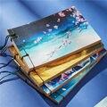 Kugel Journal Notebook Wöchentlich Planer Schreibwaren Shop Schule Chinesischen Stil Quaste Retro Handgemachte Begegnen Notizblock 016007-in Notizbücher aus Büro- und Schulmaterial bei