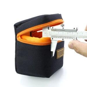 Image 2 - 1 pièces 7mm dépaisseur rembourré sac dobjectif de caméra antichoc Durable souple objectif de caméra pochette de protection sac étui pour objectif de caméra DSLR