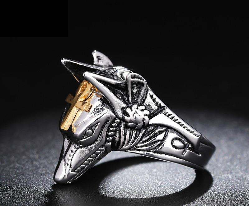 Self-defense Ring Men's Tide Hip-hop Women's Wolf Hidden Weapons Multi-functional Finger Ring Knife Self-defense Weapons Fight