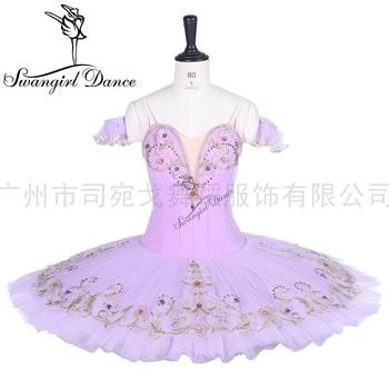 women lilac fairy professional ballet tutu ballerina pancake platter classical performance ballet stage costume tutu BT9288 недорого