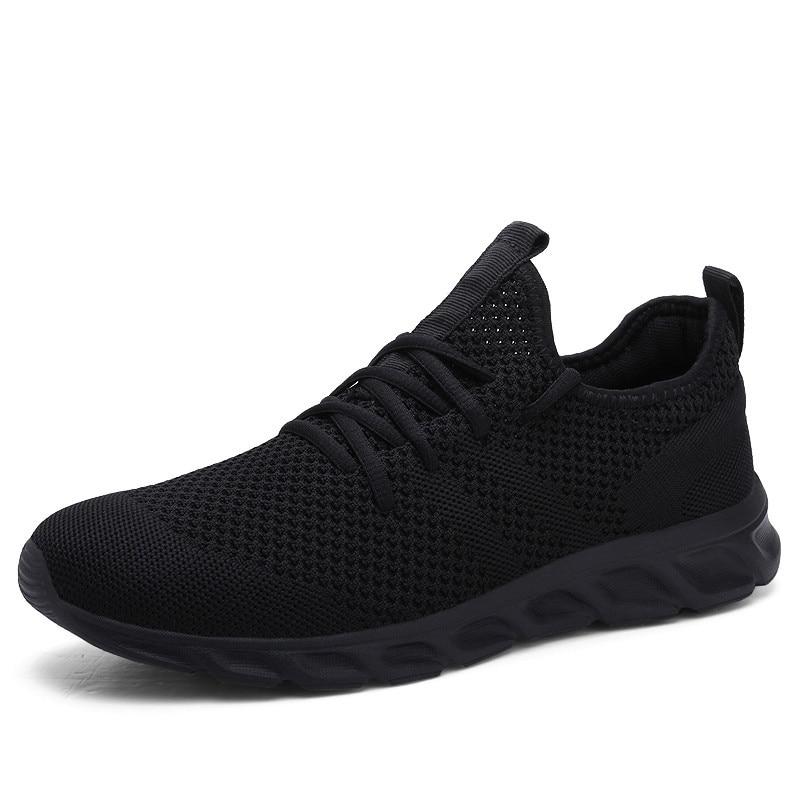 Hot Sale Light Running Shoes Comfortable Casual Men's Sneaker Breathable Non-slip Wear-resistant Outdoor Walking Men Sport Shoes 1
