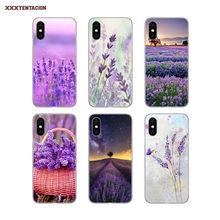 Aquarel Lavendel Voor Huawei Y5 2018 2019 Honor V8 V10 7A 7C Ru 5.45 5.77 9X Pro 8S 20 10i 10 Lite Silicone Cover Bag(China)