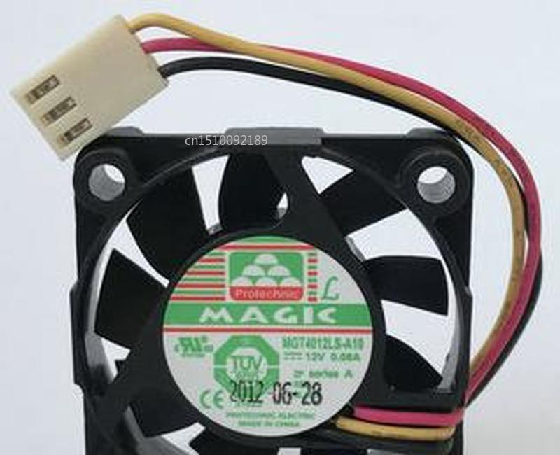 Genuine For Protechnic MGT4012LS-A10 MGT4012LS DC12V 0.08A 4010 4CM 40MM 40X40X10MM 3pin Cooling Fan Free Shipping