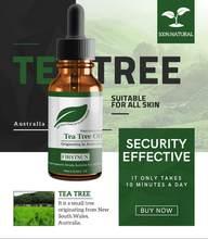 % 100% doğal çay ağacı uçucu yağ nemlendirici, anti-kırışıklık özü akne kaldırma onarım izleri masaj yağı cilt bakımı TSLM1