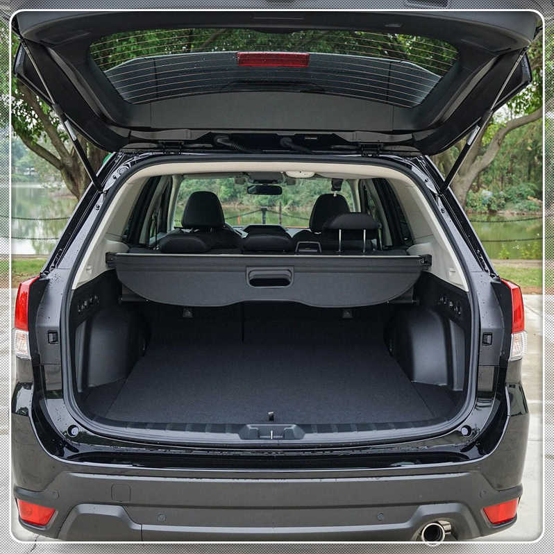 For Subaru Forester 2019 2020 Cargo Cover Security Shield Rear Trunk Luggage Parcel Shelf Cover Black Car Accessories Aliexpress