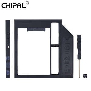 CHIPAL Universal SATA 3.0 2nd HDD Caddy 9mm 12.7mm for 2.5