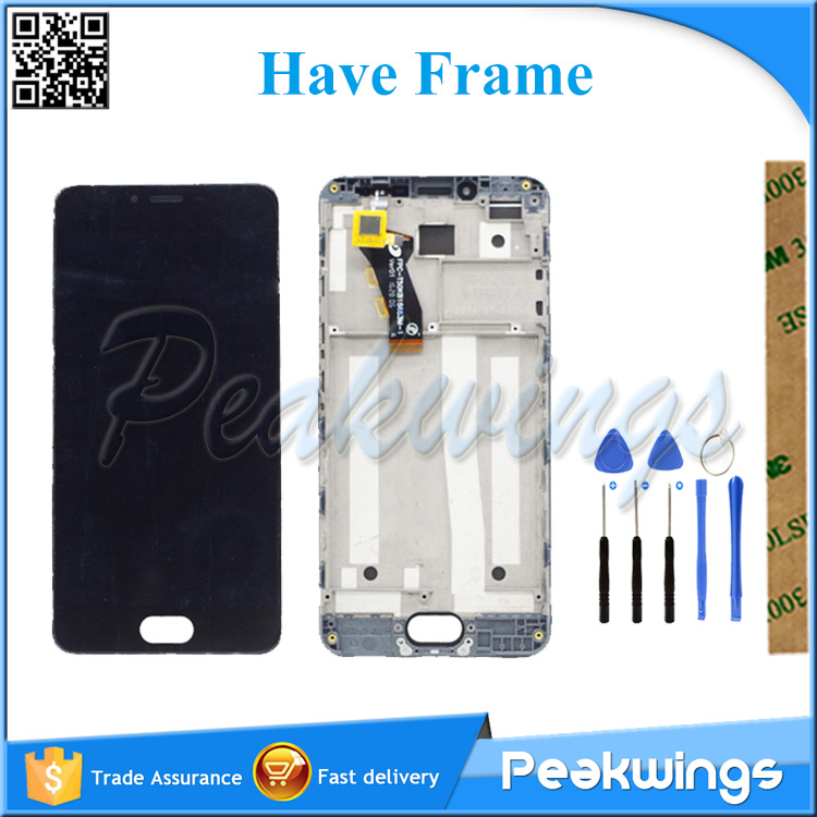 100% Tested LCD Screen For <font><b>MEIZU</b></font> <font><b>M3S</b></font> / <font><b>M3S</b></font> <font><b>mini</b></font> / Meilan 3S Y685H Y685Q LCD <font><b>Display</b></font> Screen With Touch Assembly image
