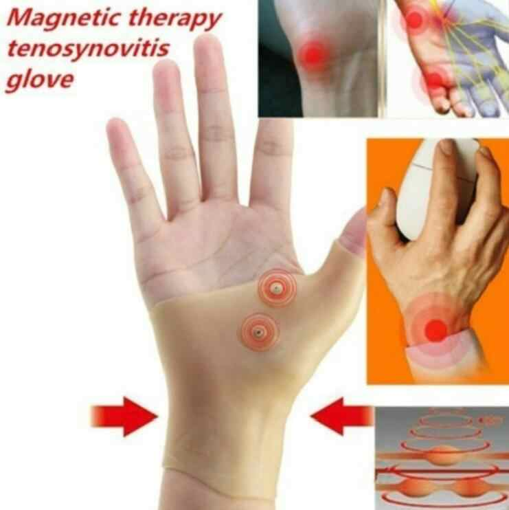 1Pcs Magnetic Therapy Hand Support Strap Glove Hand Massager Glove Arthritis Wrist Pain Relief Heal Joints Braces Supports